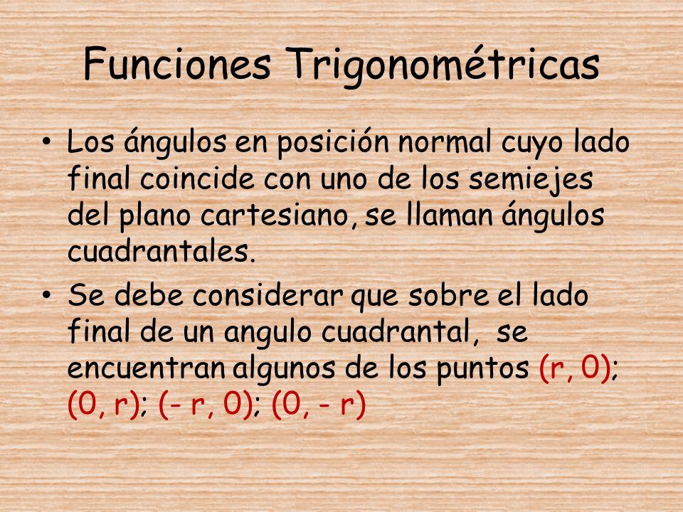 Funciones Trigonométricas