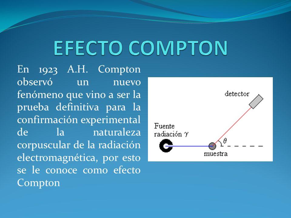 EFECTO COMPTON