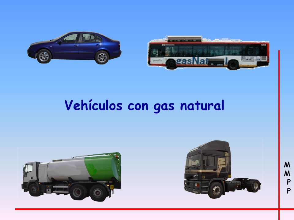 Vehículos con gas natural