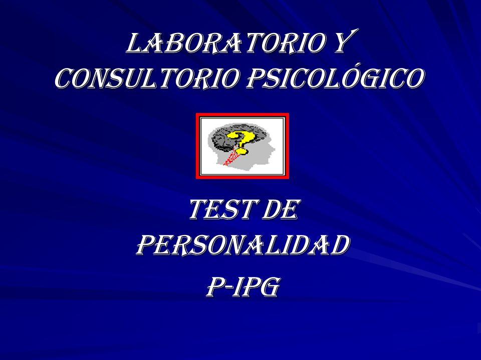 LABORATORIO Y CONSULTORIO PSICOLÓGICO