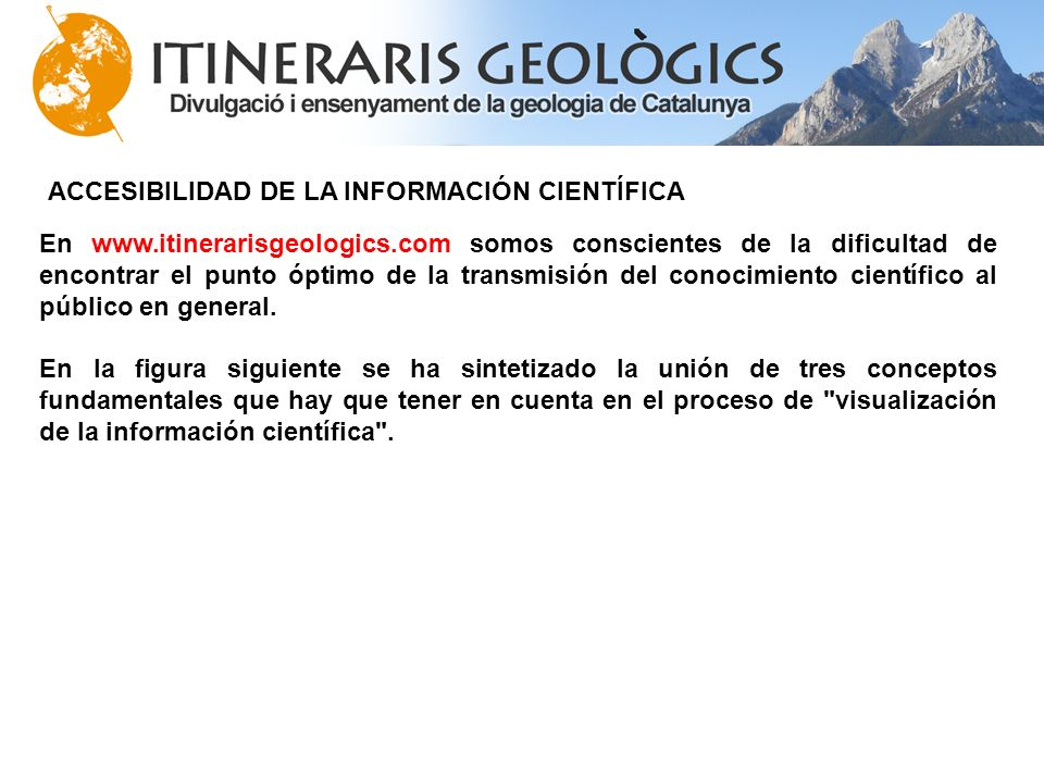 En www. itinerarisgeologics