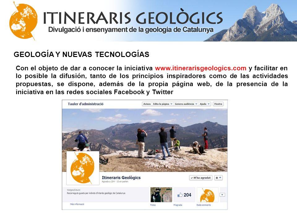 GEOLOGÍA Y NUEVAS TECNOLOGÍAS