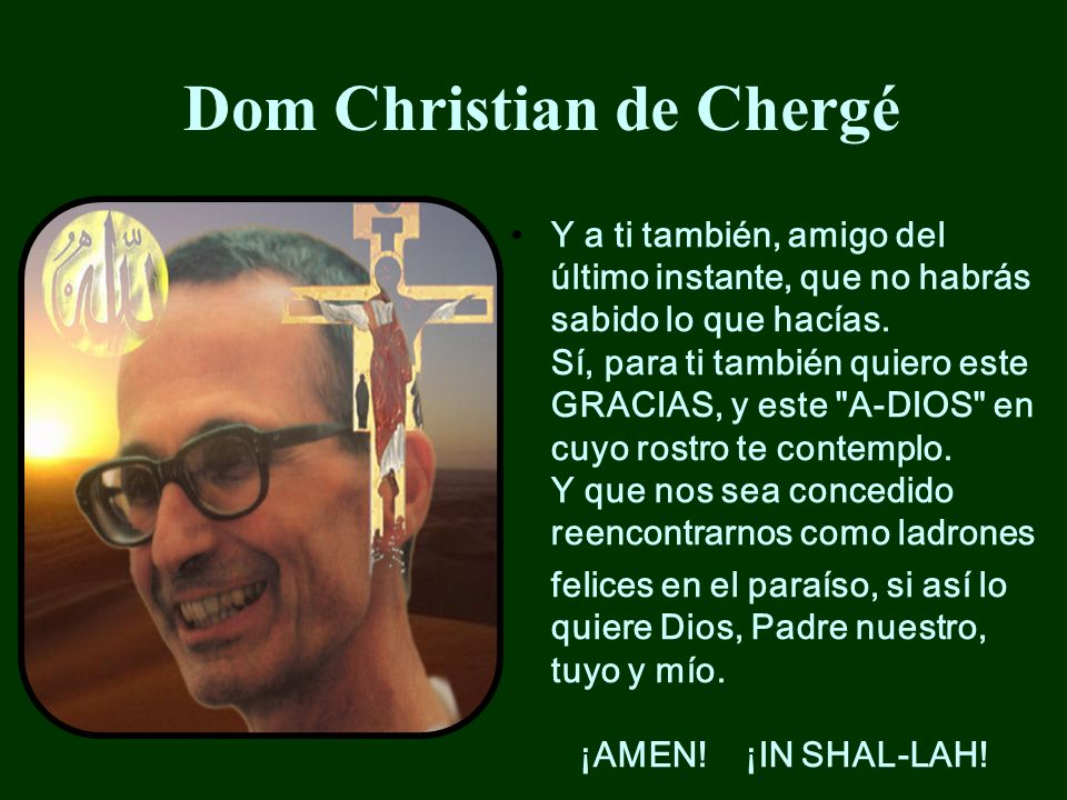 Dom Christian de Chergé