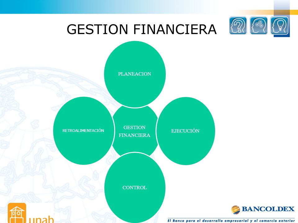 GESTION FINANCIERA RETROALIMENTACIÓN FINANCIERA GESTION PLANEACION