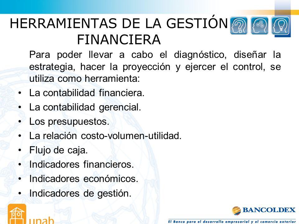 HERRAMIENTAS DE LA GESTIÓN FINANCIERA