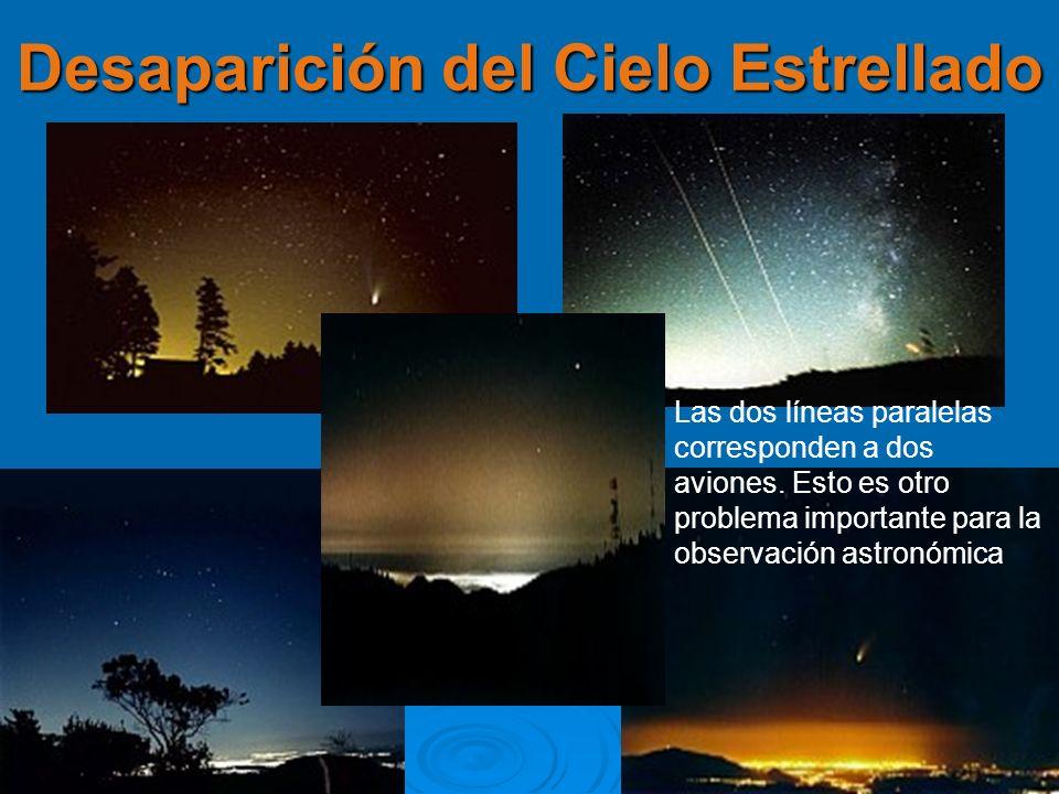 Desaparición del Cielo Estrellado