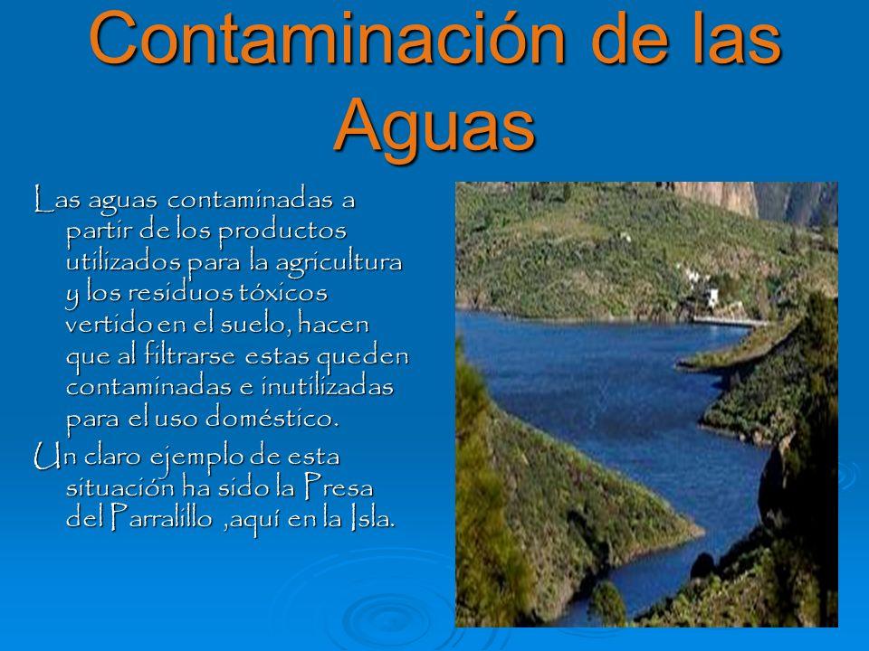 Contaminación de las Aguas