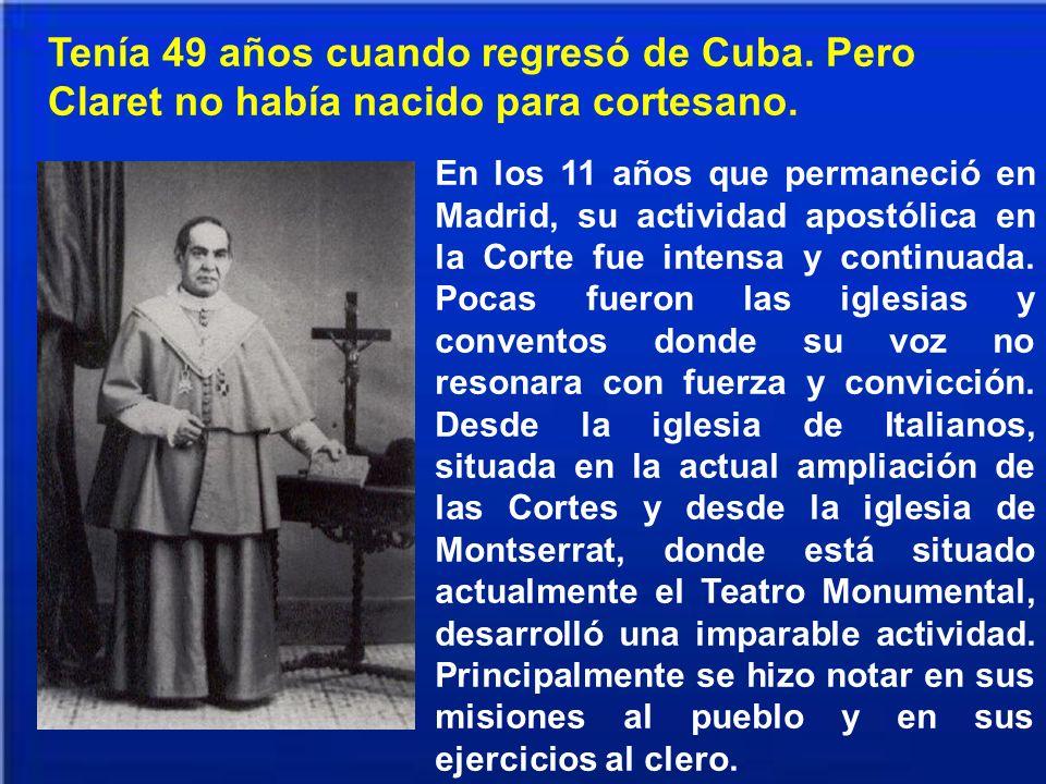 Tenía 49 años cuando regresó de Cuba