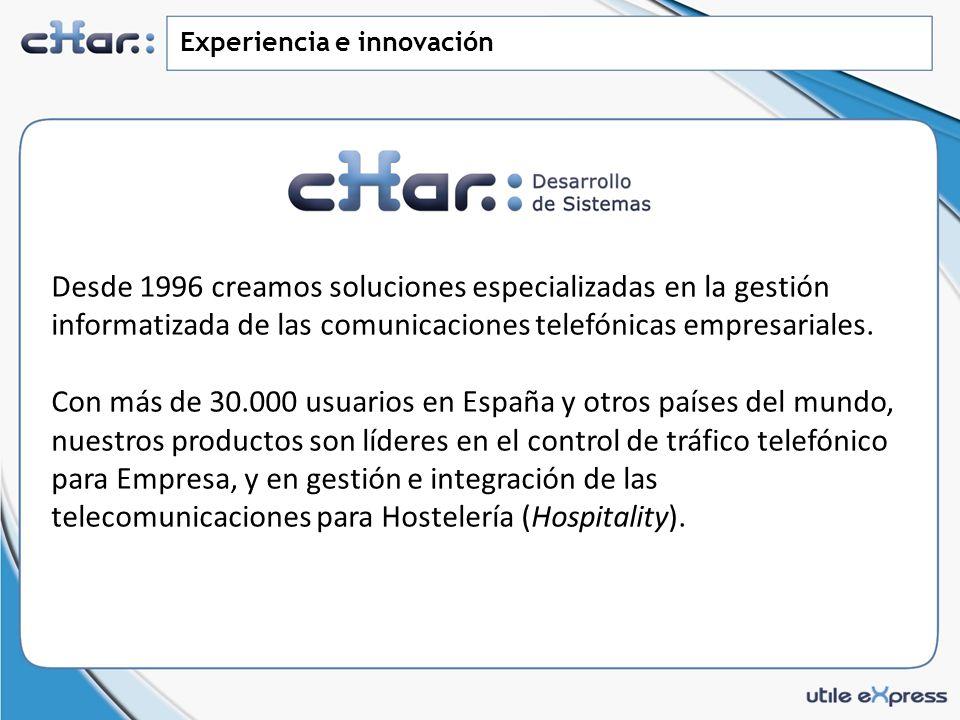 Experiencia e innovación