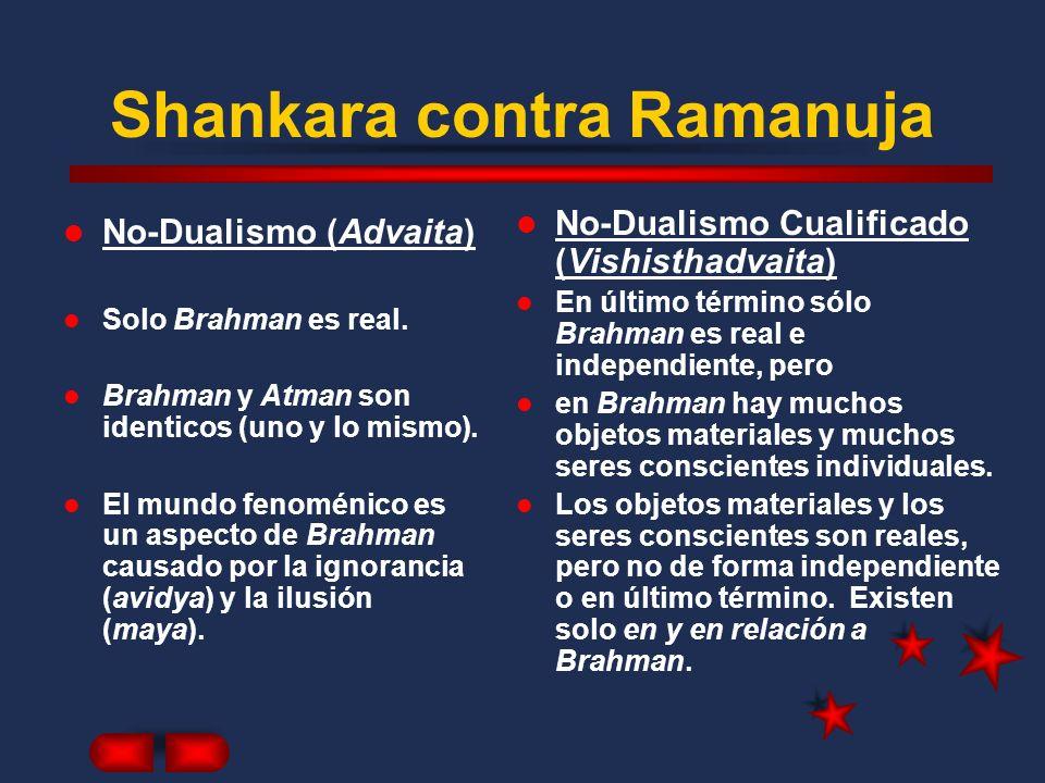 Shankara contra Ramanuja