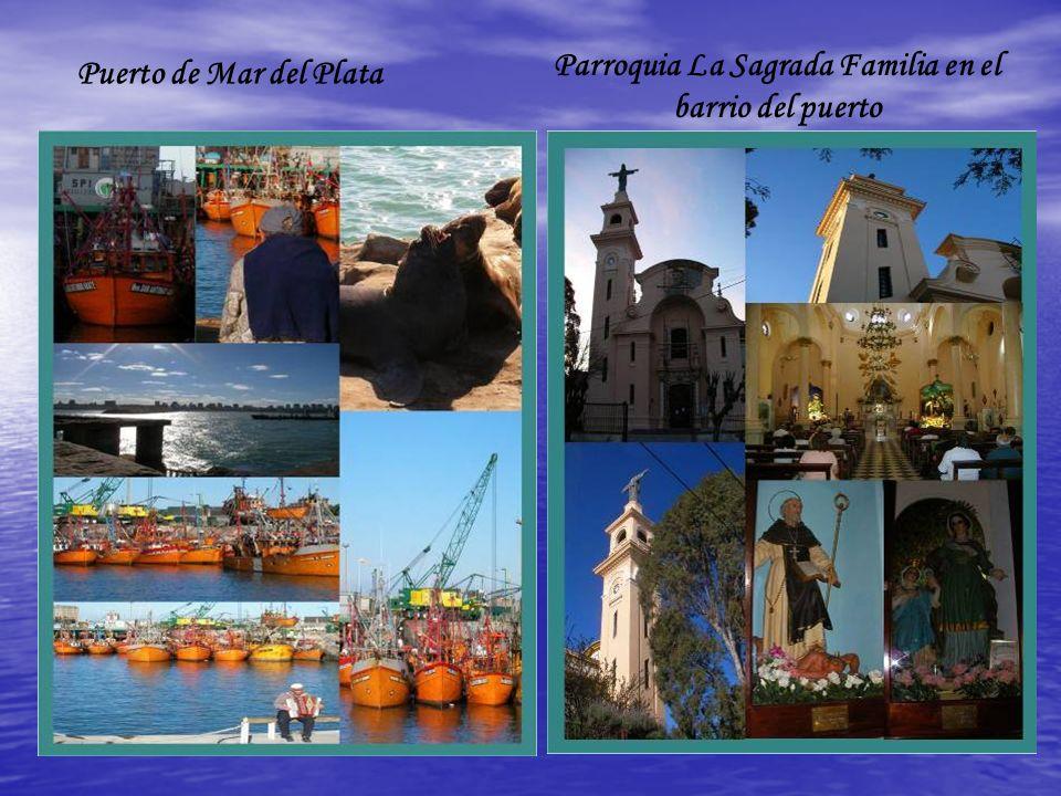 Parroquia La Sagrada Familia en el barrio del puerto