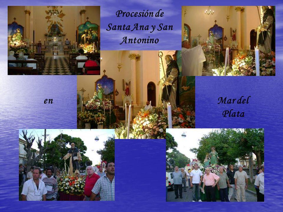 Procesión de Santa Ana y San Antonino