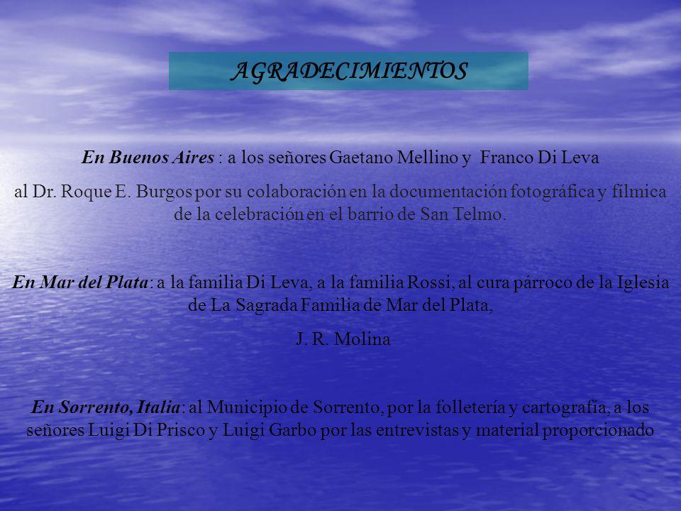 En Buenos Aires : a los señores Gaetano Mellino y Franco Di Leva