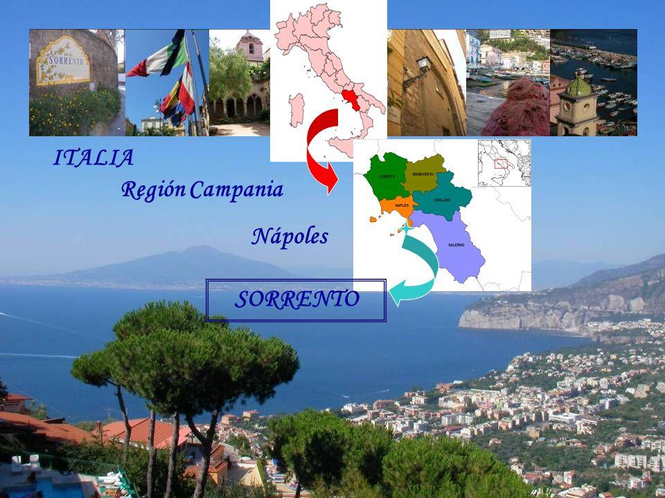 ITALIA Región Campania Nápoles SORRENTO