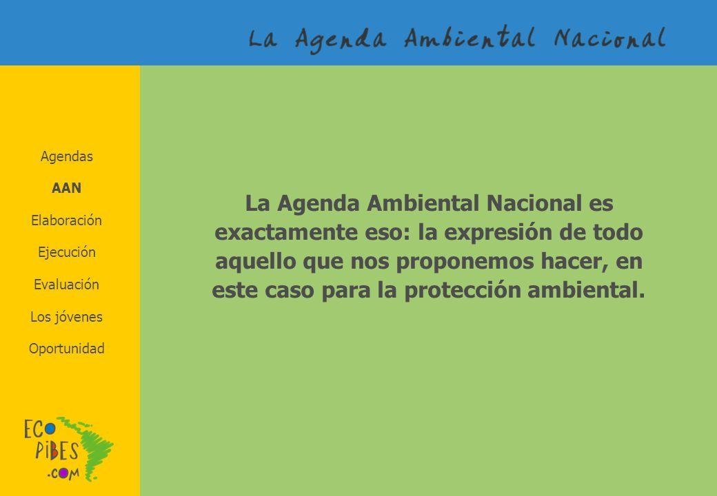 Agendas AAN.