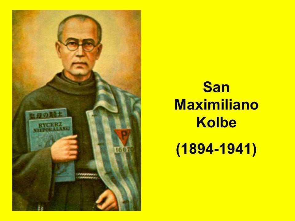 San Maximiliano Kolbe (1894-1941)