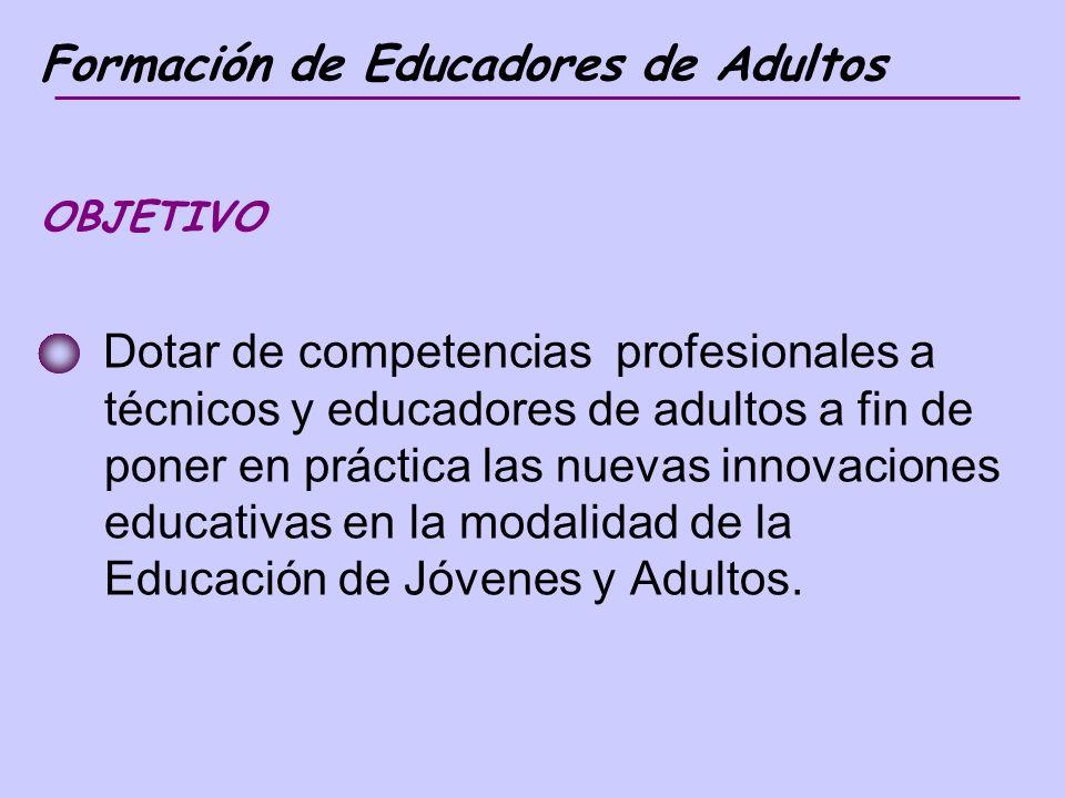Formación de Educadores de Adultos