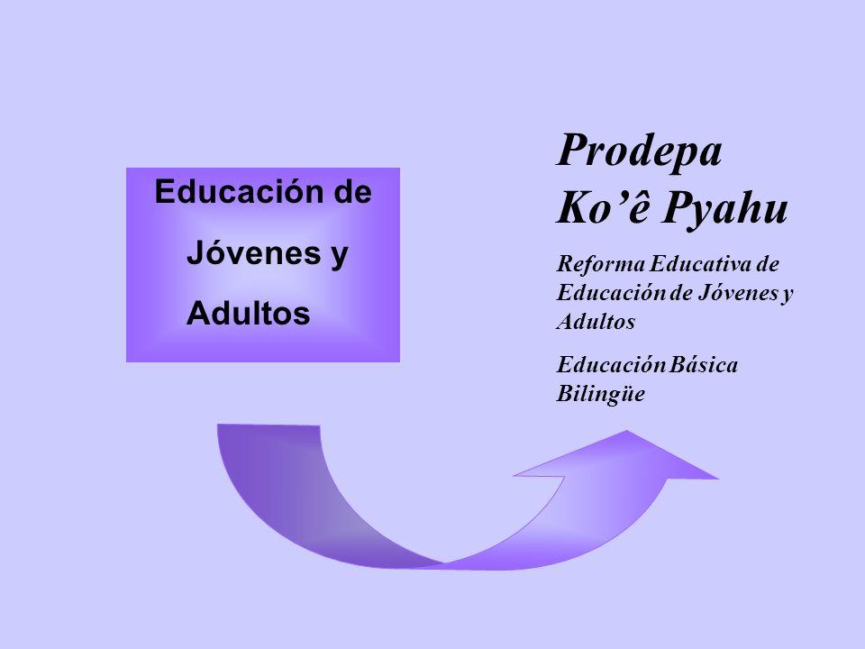 Prodepa Ko'ê Pyahu Educación de Jóvenes y Adultos