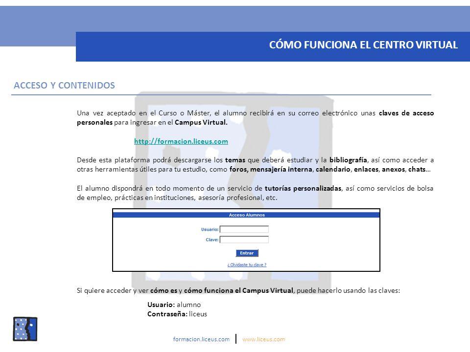 CÓMO FUNCIONA EL CENTRO VIRTUAL