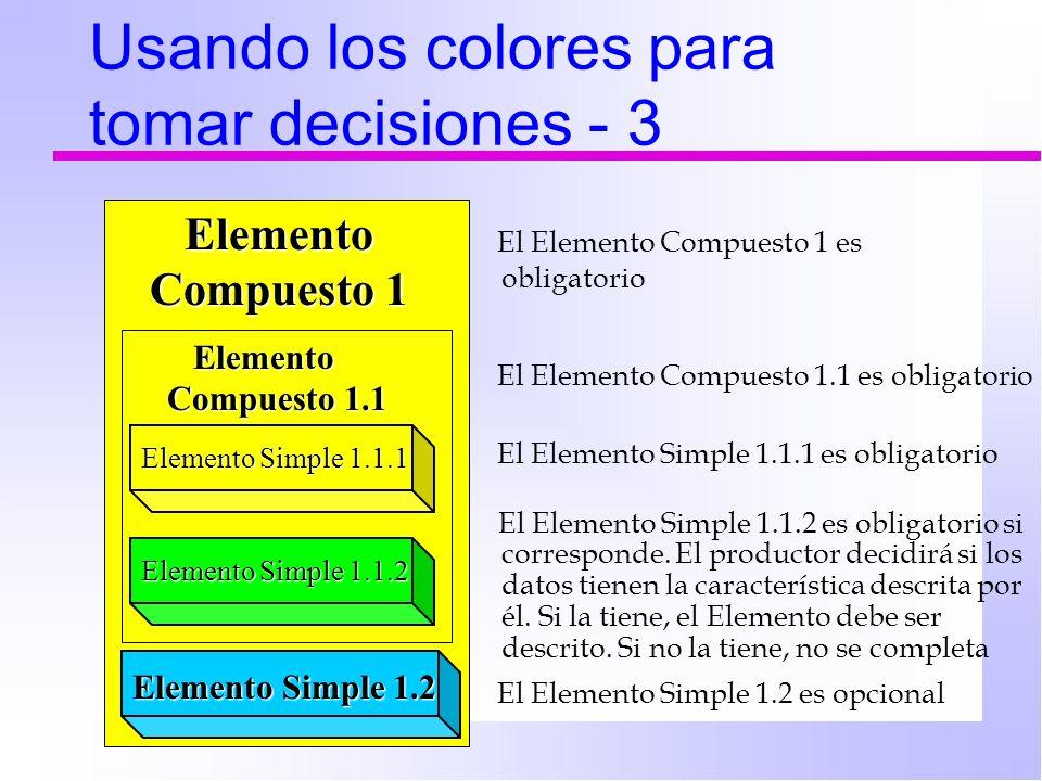 Usando los colores para tomar decisiones - 3