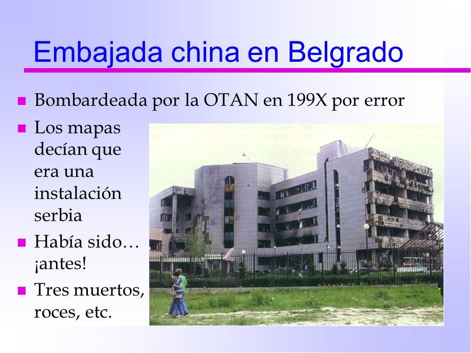 Embajada china en Belgrado