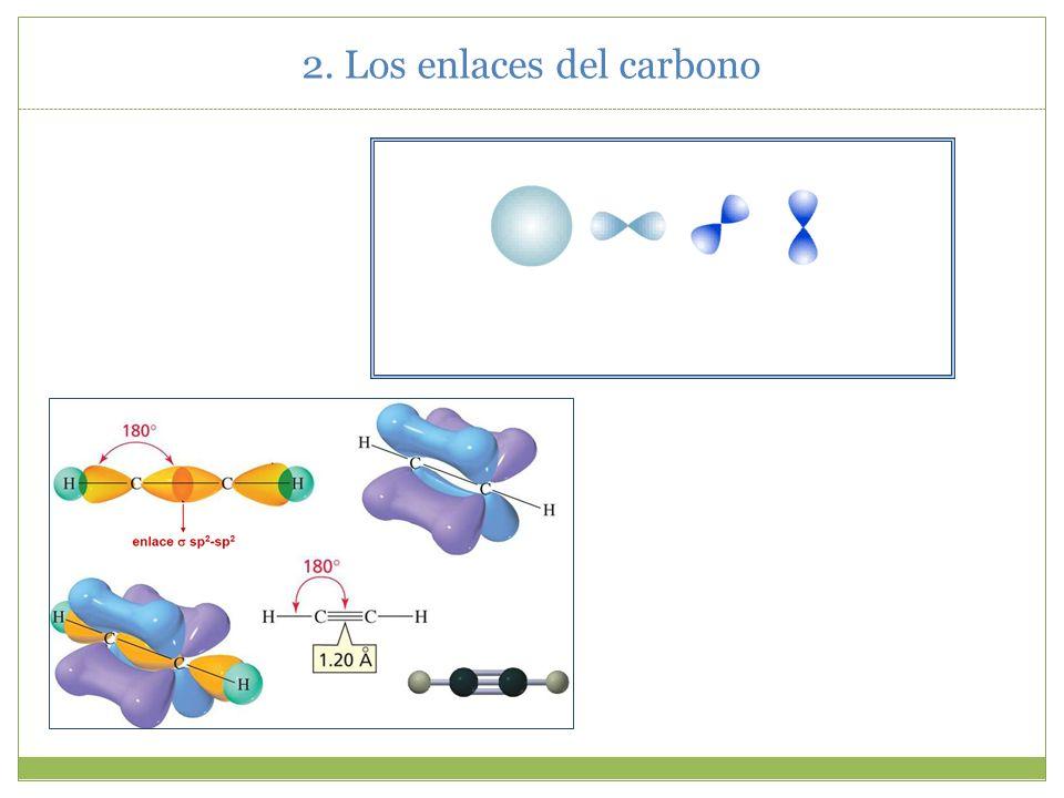 2. Los enlaces del carbono