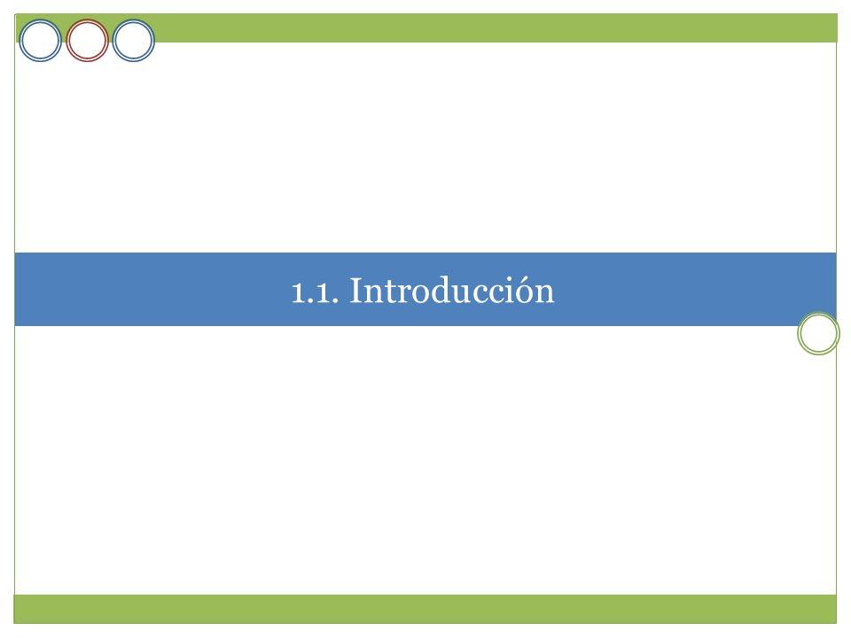 1.1. Introducción