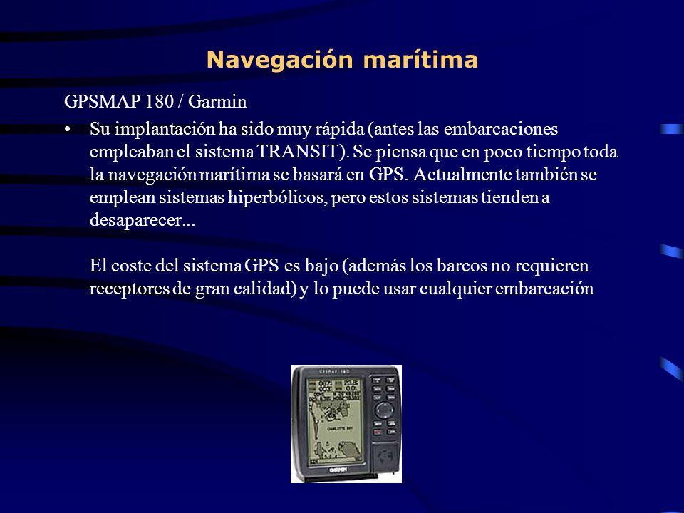 Navegación marítima GPSMAP 180 / Garmin
