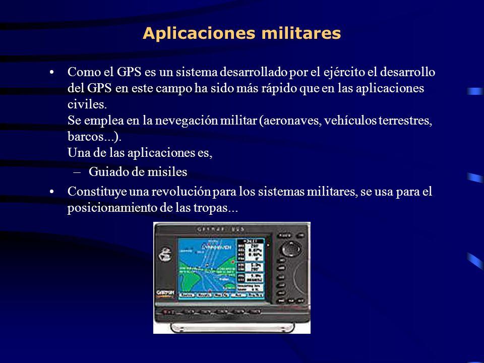 Aplicaciones militares