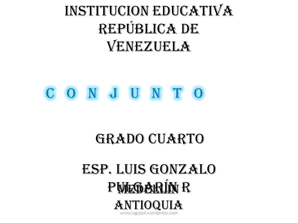 INSTITUCION EDUCATIVA REPÚBLICA DE VENEZUELA