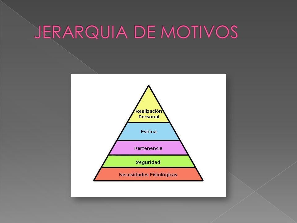JERARQUIA DE MOTIVOS