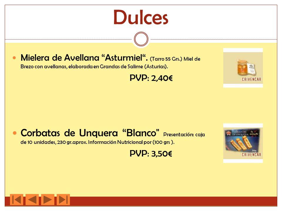 Dulces Mielera de Avellana Asturmiel . (Tarro 55 Grs.) Miel de Brezo con avellanas, elaborada en Grandas de Salime (Asturias).