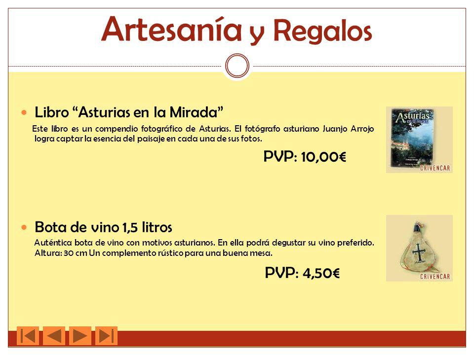 Artesanía y Regalos PVP: 4,50€ Libro Asturias en la Mirada