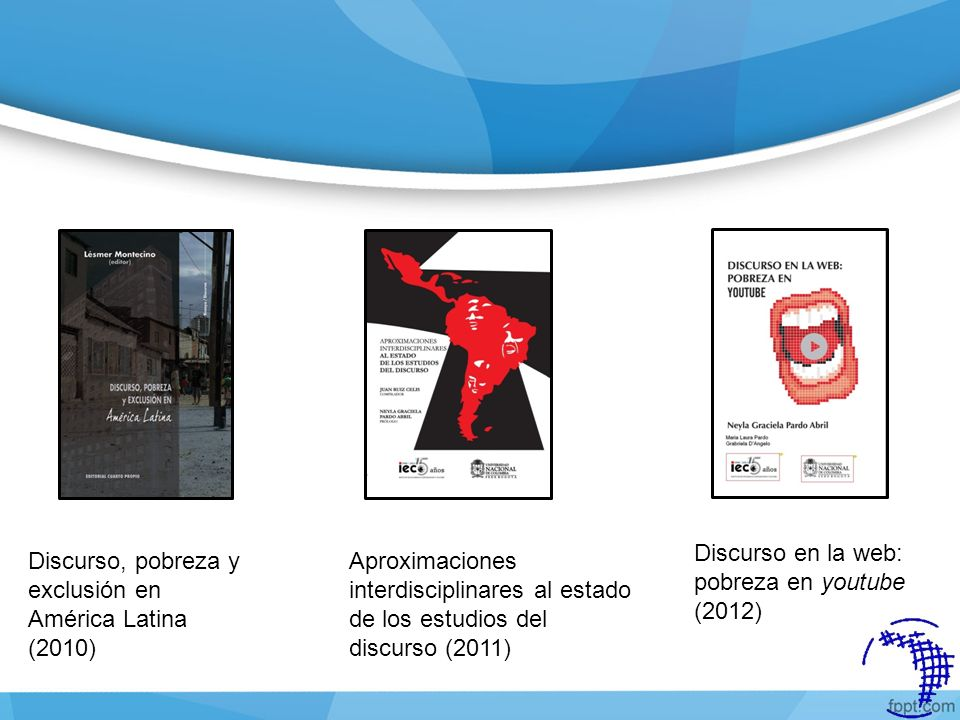 Discurso en la web: pobreza en youtube (2012)