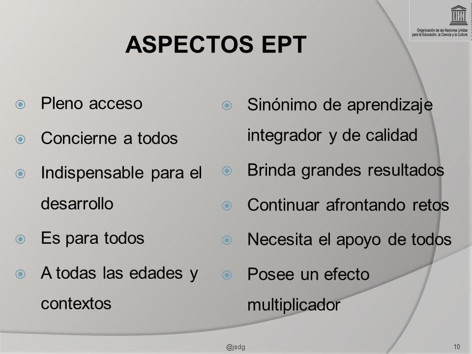 ASPECTOS EPT Pleno acceso