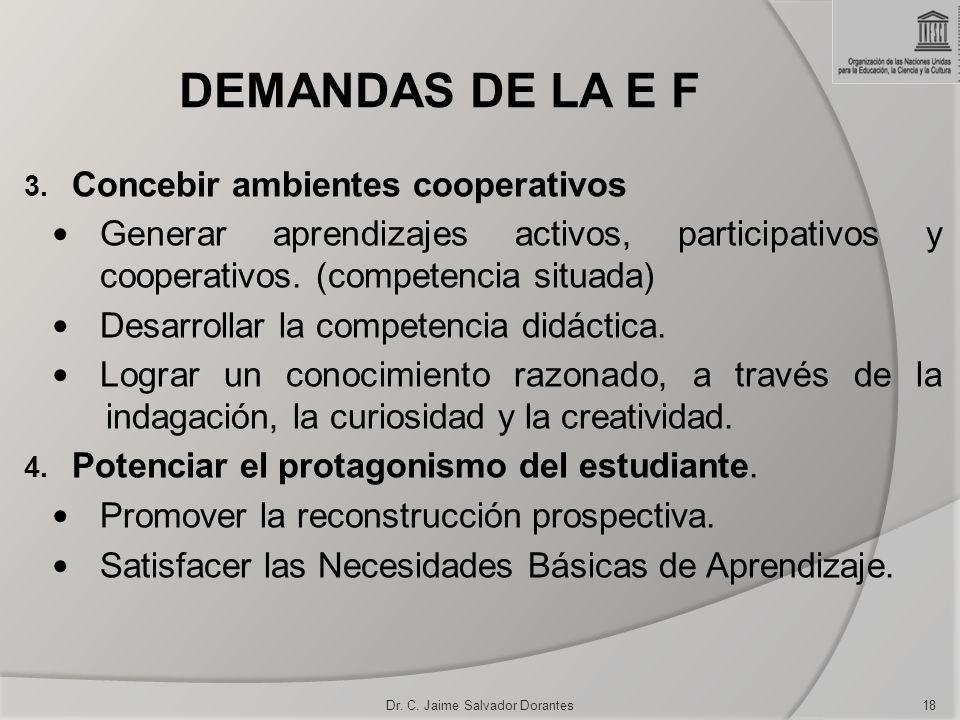 Dr. C. Jaime Salvador Dorantes
