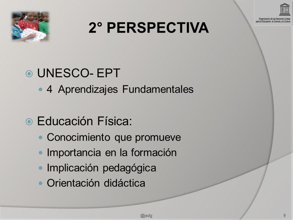 2° PERSPECTIVA UNESCO- EPT Educación Física: