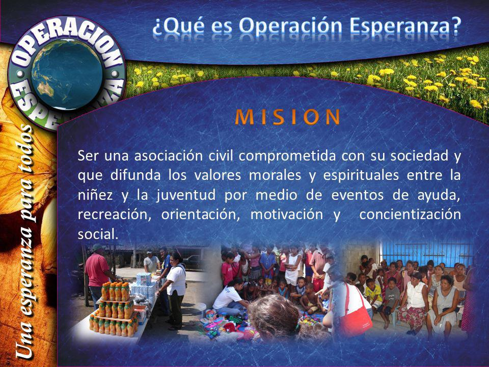 ¿Qué es Operación Esperanza