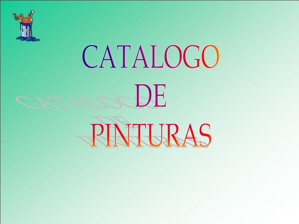 CATALOGO DE PINTURAS