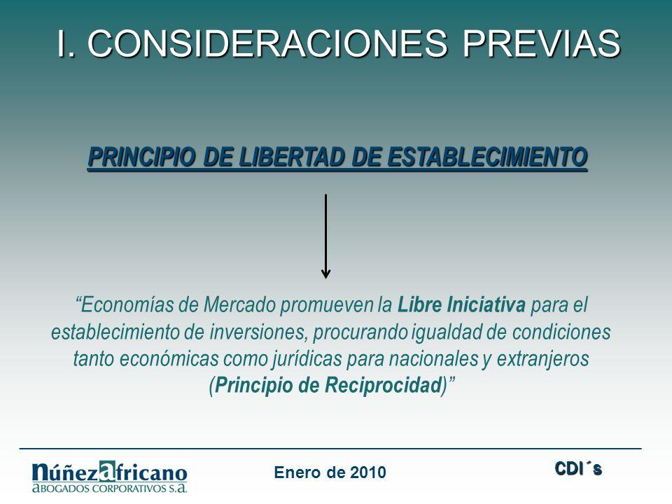 PRINCIPIO DE LIBERTAD DE ESTABLECIMIENTO
