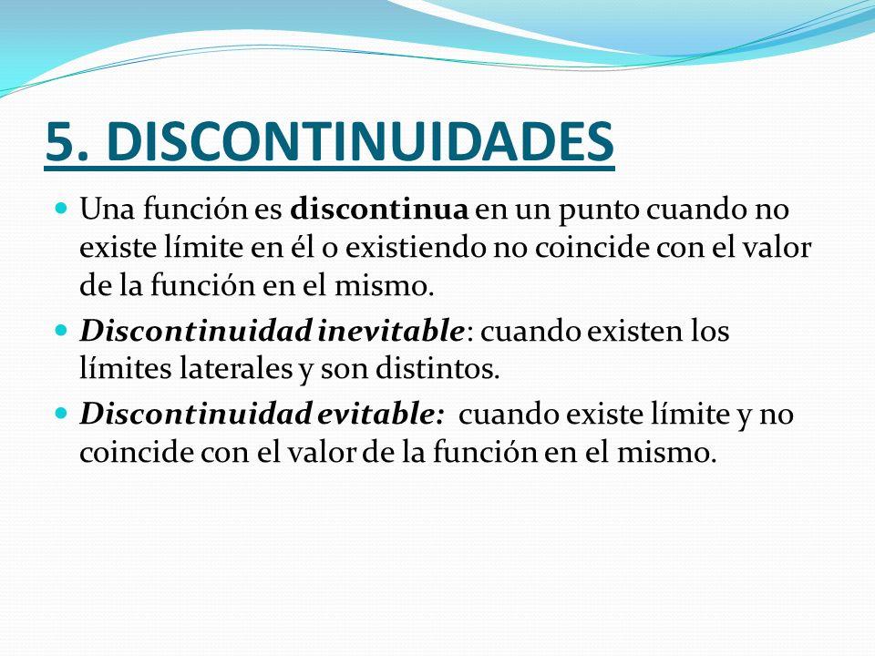 5. DISCONTINUIDADES