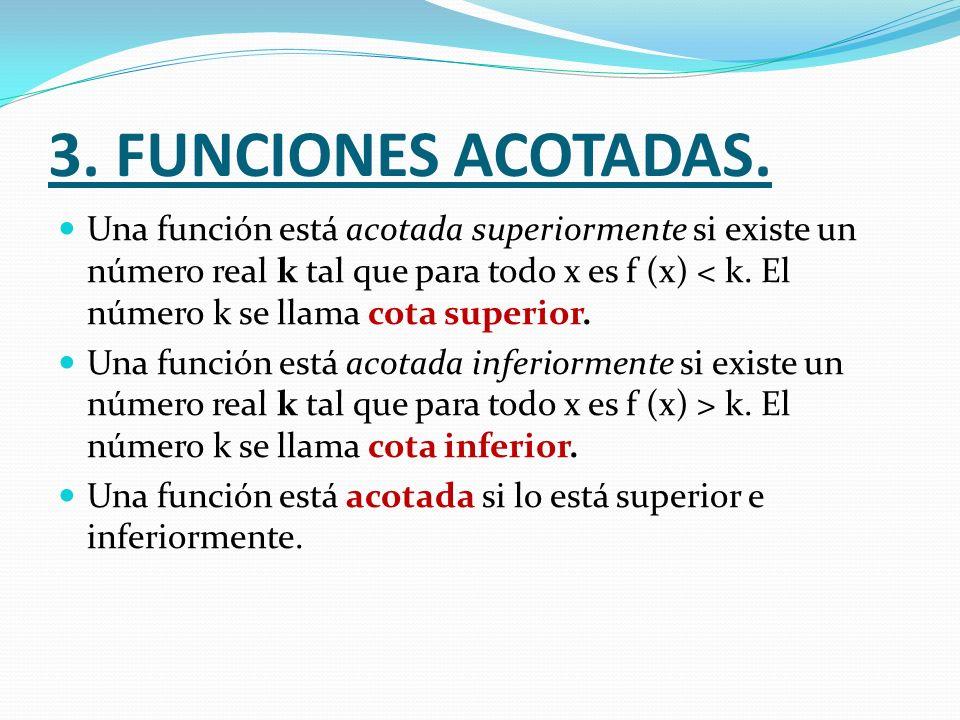 3. FUNCIONES ACOTADAS.