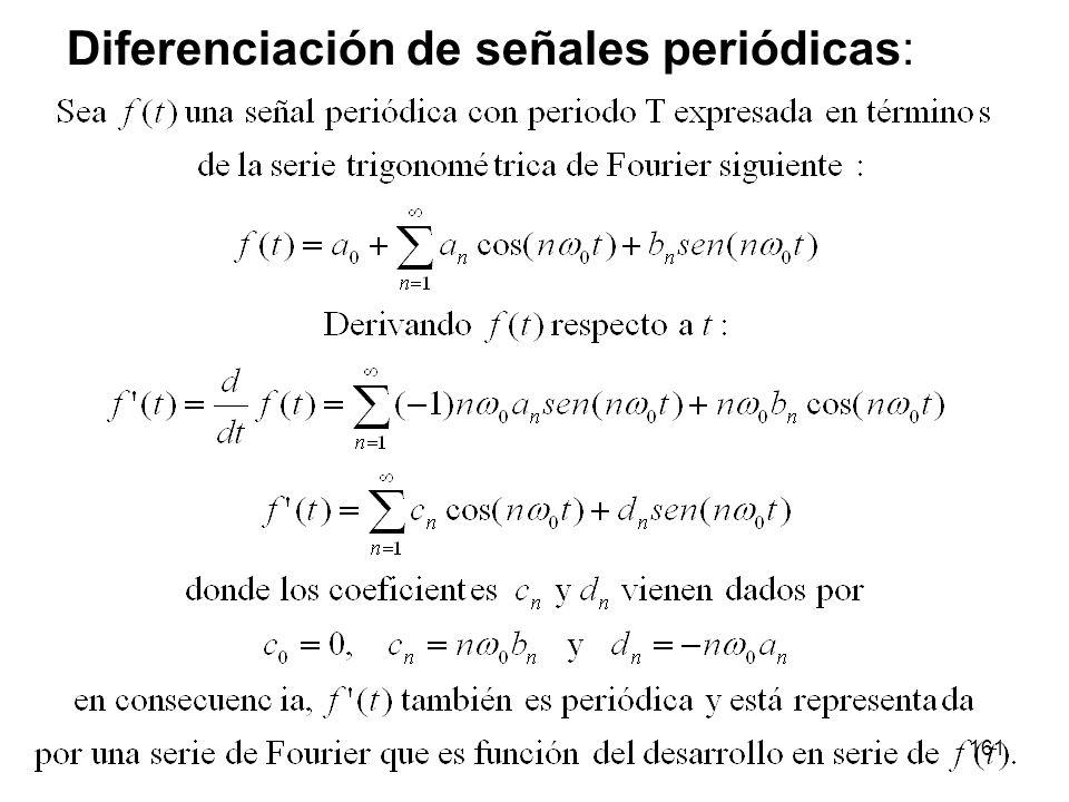 Diferenciación de señales periódicas: