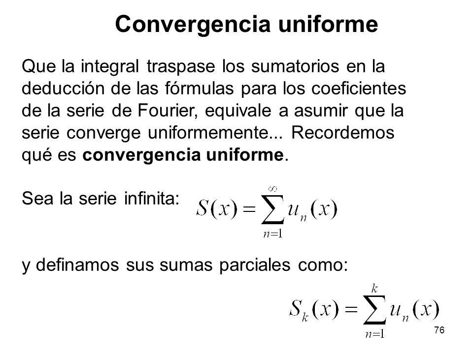 Convergencia uniforme