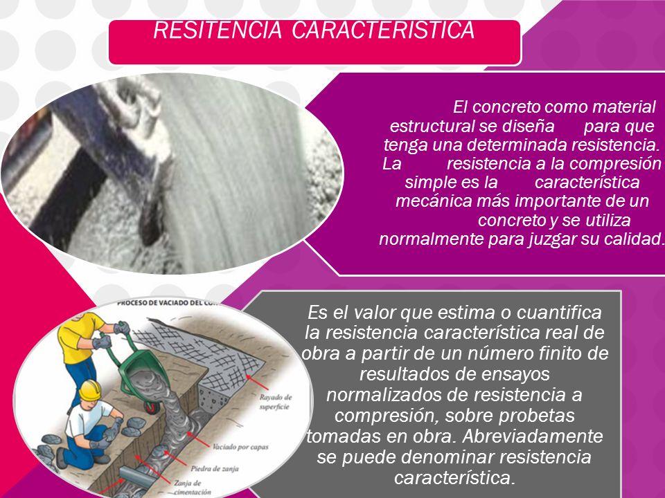 RESITENCIA CARACTERISTICA