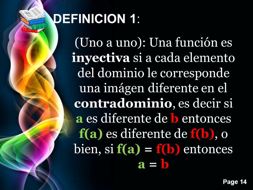 DEFINICION 1: