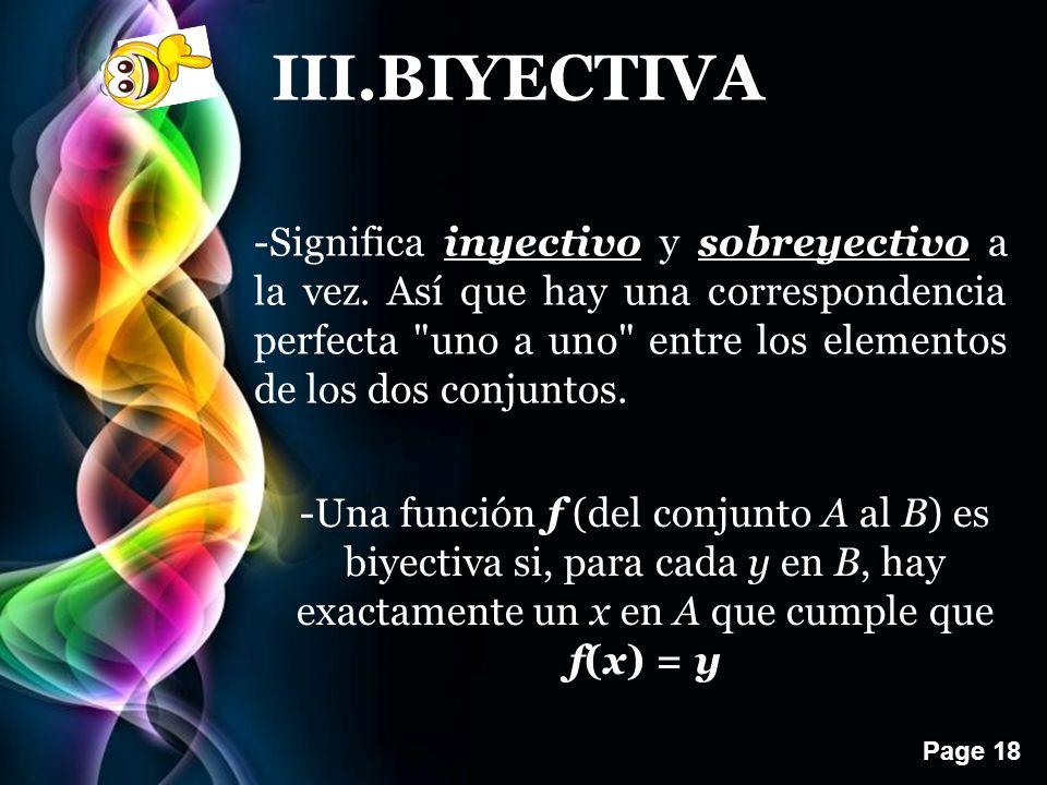 III.BIYECTIVA