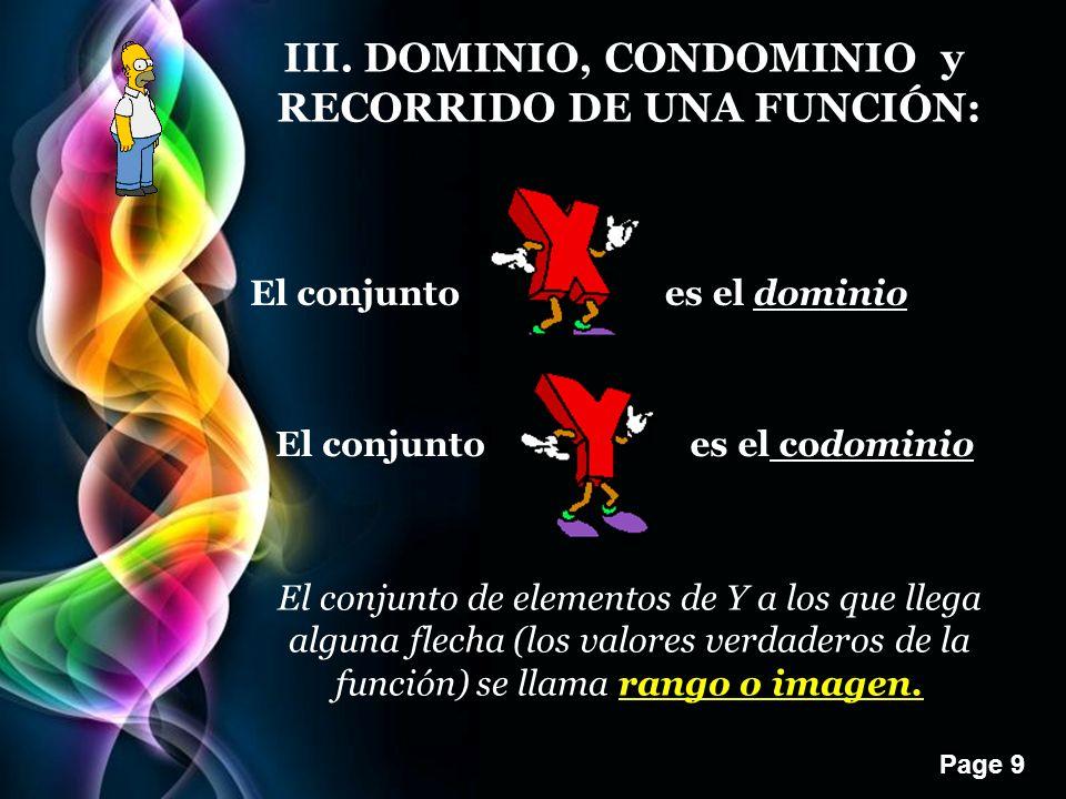 III. DOMINIO, CONDOMINIO y