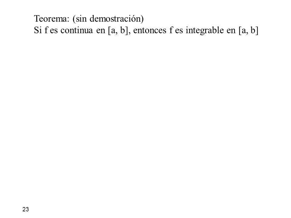 Teorema: (sin demostración)