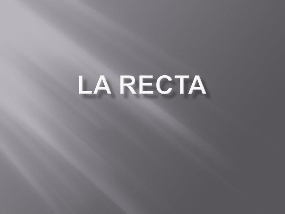 LA RECTA
